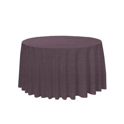"Tuscany Plum 108"" Round Tablecloth picture 1"