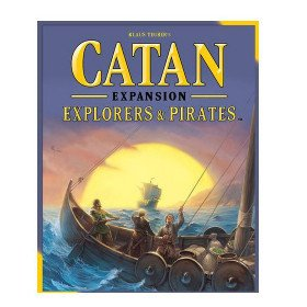 Catan Expansion: Explorers and Pirates Board Game