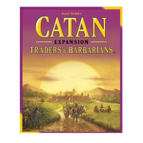 Catan Expansion: Traders and Barbarians Board Game
