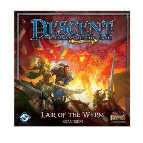 Descent: Journeys in the Dark (Second Edition) – Lair of the Wyrm Board Game