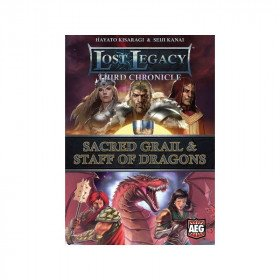 Lost Legacy: Third Chronicle – Sacred Grail & Staff of Dragons Board Game