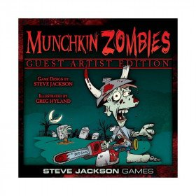 Munchkin Zombies: Guest Artist Edition Board Game