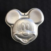 cake pan - mickey mouse