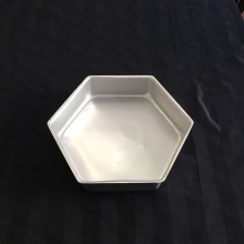 cake pans - hexagon