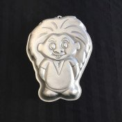 cake pan - troll doll