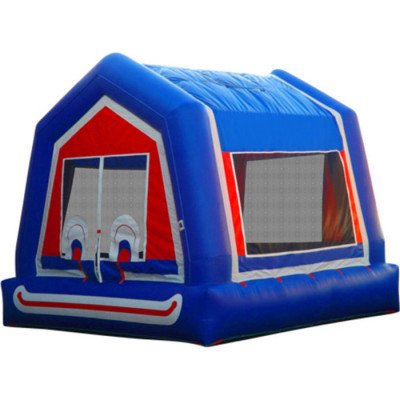 Inflatable Clown Face Moonwalk 15' X 15' picture 1