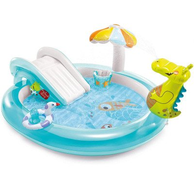 Intex Gator Inflatable Pool with Slide picture 1