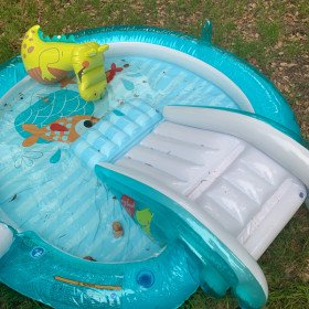 Baby blow up pool
