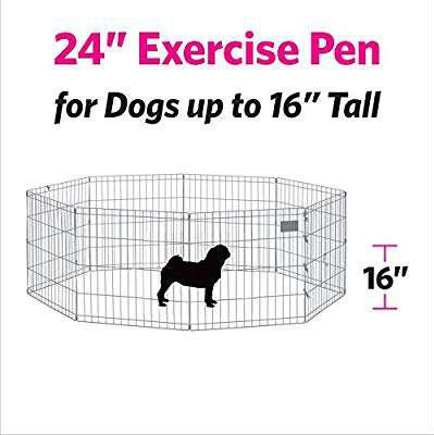Pet exercise pen 61 cm x 61 cm