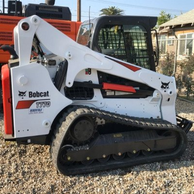 Large Frame Compact Track Loader with Forestry Cutter T770 picture 1