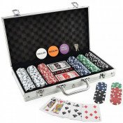 Clay poker chip set