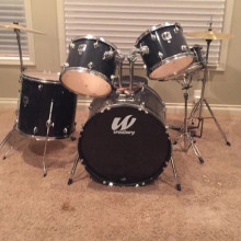 5 piece drum kit- westbury