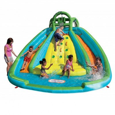 inflatable slide bouncer picture 1