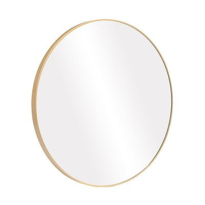 Infinity Round 28-inch Wall-Mounted Mirror picture 2