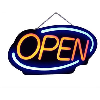 led Open Sign - English picture 1