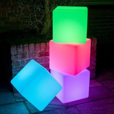 led light cube chairs picture 2