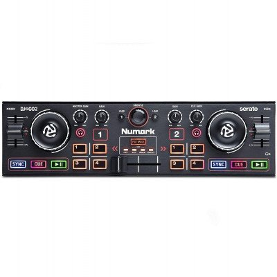 pocket DJ controller with audio interface picture 2