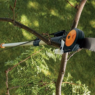 extendable pole saw and pruner picture 1