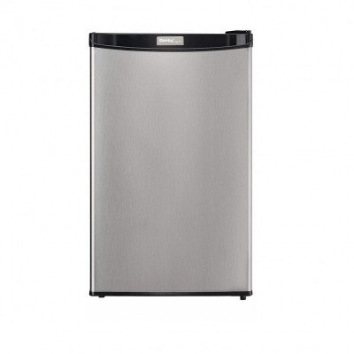 stainless steel mini fridge picture 1