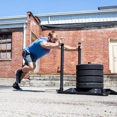 power weight training sled picture 2