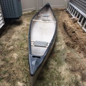 17' ABS canoe with paddles and pfds
