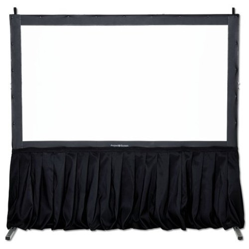 Black Screen Skirt Kit - Projector Screen Only
