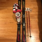 Line honey badger freestyle skis