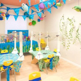 Under the Sea - Party Decorations and Setup