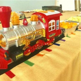 Trains - Party Decorations and Setup