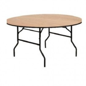 """66"""" Wood Tables, seats 8"""