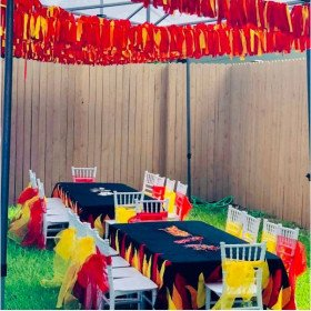 Fireman - Party Decorations and Setup