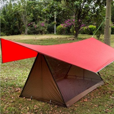 lightweight camping tent breathable bug shelter picture 1