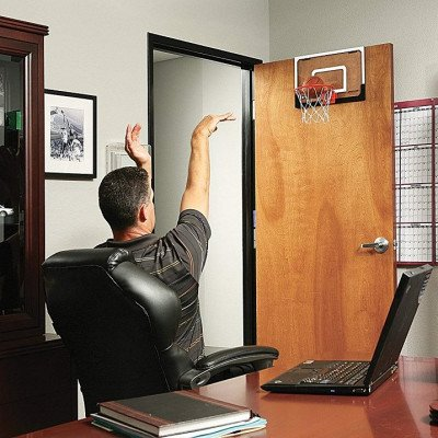 mini basketball hoop with ball picture 3