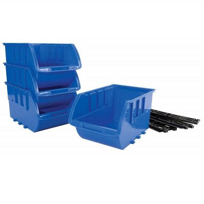 large stackable storage trays picture 1