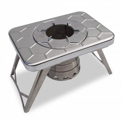 compact wood burning camping stove picture 3