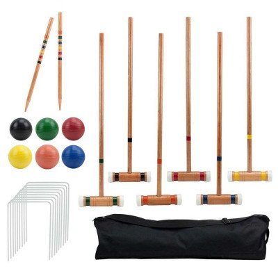 deluxe croquet set picture 1