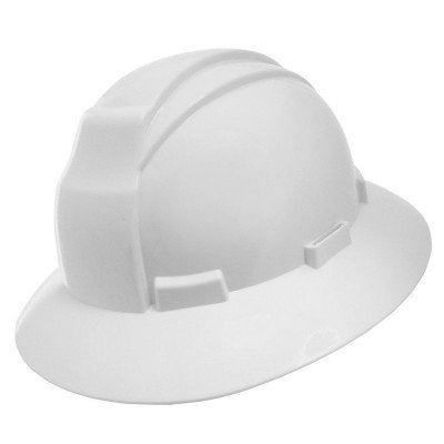 White Wide Brim Hard Hat picture 1