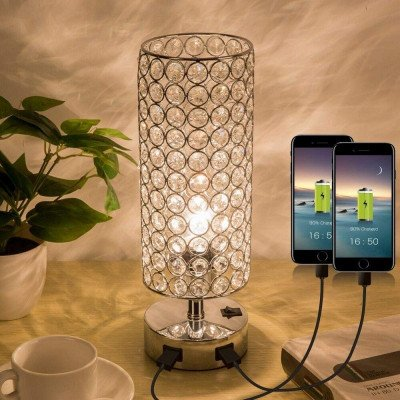 crystal table lamp picture 1