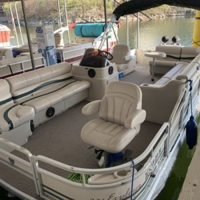 pontoon boat- lake travis - up to 14 persons mon - thu-3