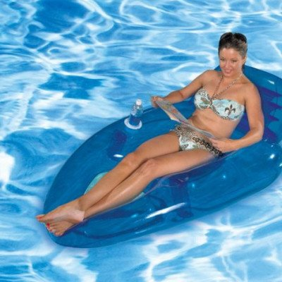 reclining pool lounger picture 2