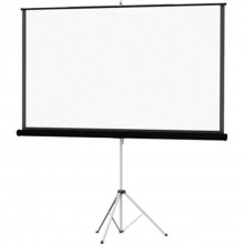 tripod projector screen - 6' x 6'