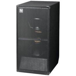 powered subwoofer, electro voice – dual