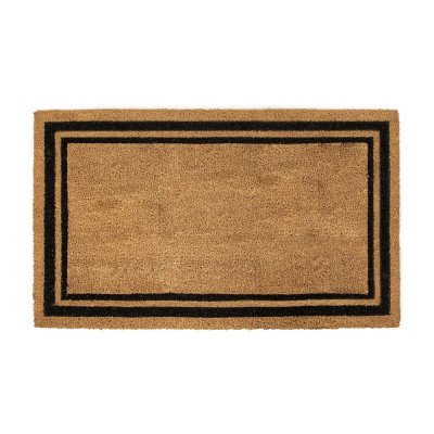 Indoor - Outdoor Rectangular Coir Door Mat picture 1