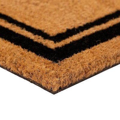 Indoor - Outdoor Rectangular Coir Door Mat picture 2