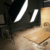Softbox studio lights