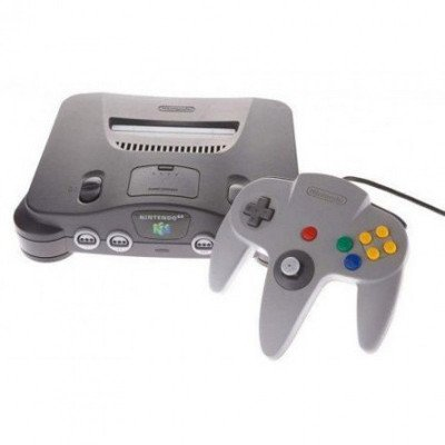 nintendo 64 with various games-3