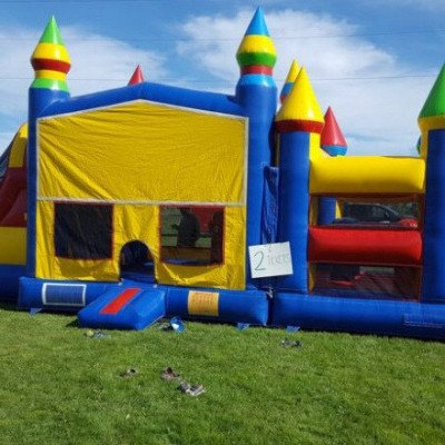large obstacle inflatable