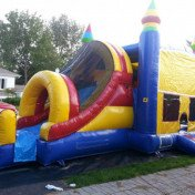 Large combo inflatable