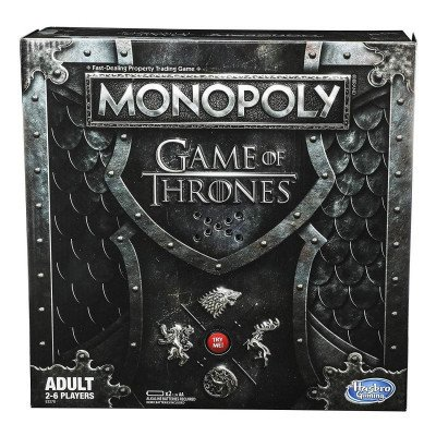 monopoly game of thrones board game picture 1