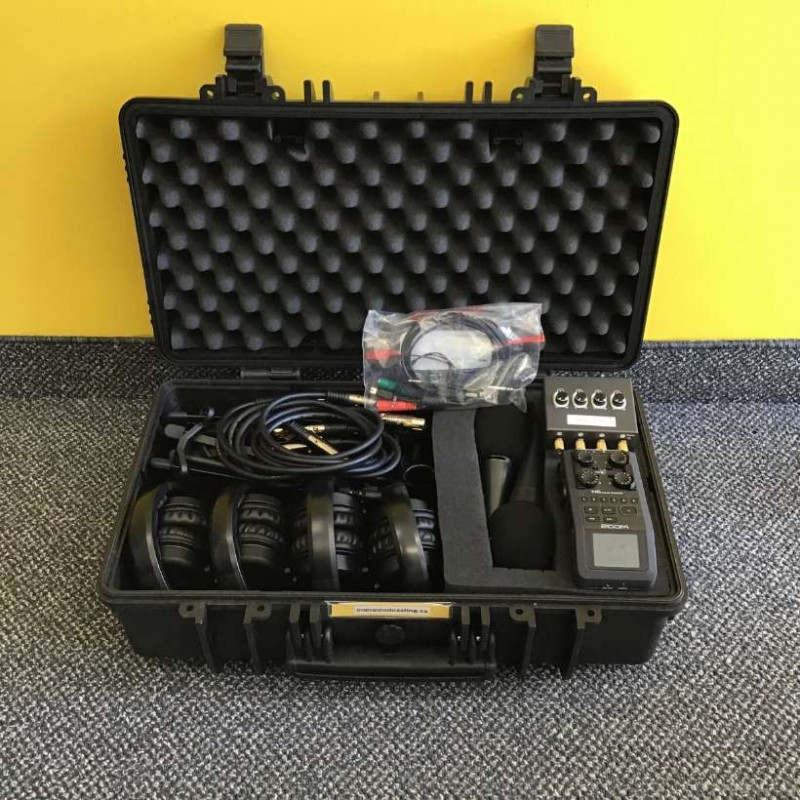 Four person podcast kit